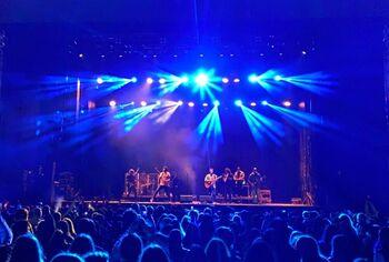 'Taburete' llena Ólvega en su concierto
