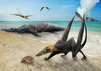 Hallan en Chile restos de un 'dragón volador' del Jurásico