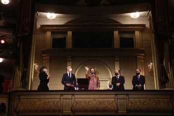 Doña Sofía brilla en el Teatro Real