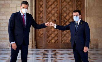 Sánchez y Aragonès se necesitan mutuamente