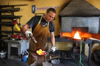 Forja y arte en la Palencia rural