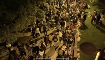Otro sábado de botellón en Logroño, con 6.000 personas