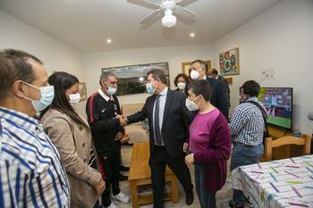 Page inaugura cuatro nuevas viviendas en Aspadec