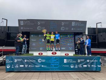 Fernando Tercero acaba tercero en la Vuelta a Galicia