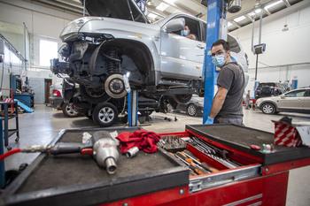 Los talleres mecánicos se adaptan a los nuevos sistemas