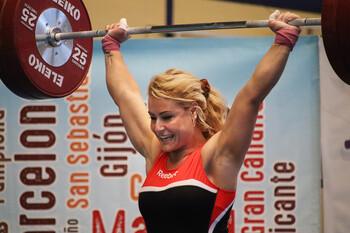 Lydia Valentín, premio Victoria a la mejor deportista de CyL