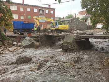 Tras el incendio, llegan las inundaciones