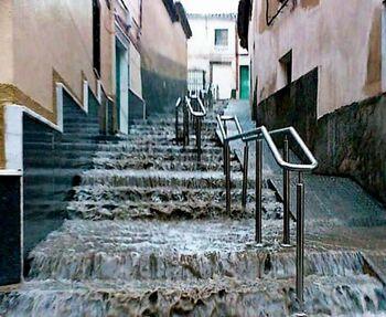 En riesgo de inundación