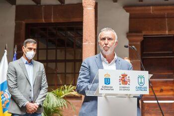 Canarias prepara una primera línea de ayudas para La Palma
