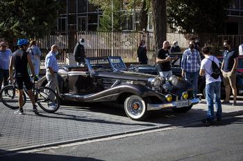 Vuelve la pasarela de coches clásicos