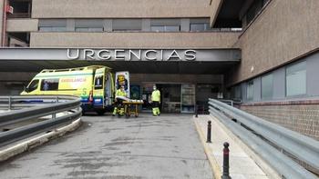 Un trabajador resulta herido en un accidente