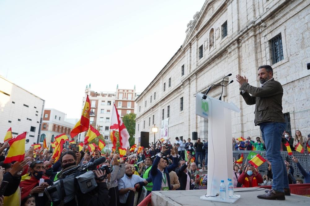 El presidente de Vox presenta la Agenda España