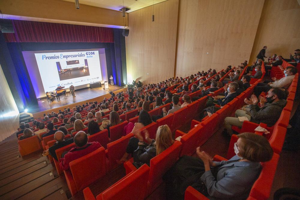Premios Empresariales de CEOE Ávila