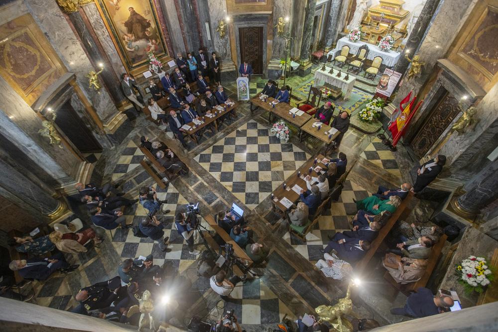 Apertura del IV Centenario Alcantarino