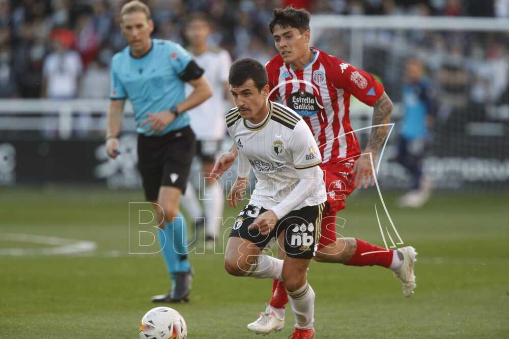 El Burgos CF solo suma un punto ante el Lugo