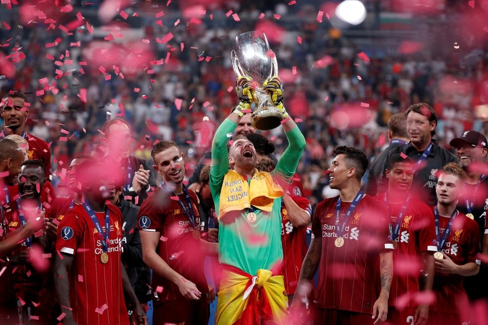 Adrián da al Liverpool su cuarta Supercopa de Europa - Diario de Burgos