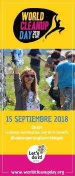 Día mundial de la limpieza del planeta próximo 15 de Septiembre