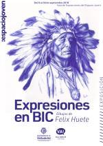 EXPOSICION EXPRESIONES EN BIC. FELIX HUETE